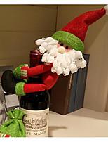abordables -Décorations de vacances Décorations de Noël Décorations de Noël Portable Rouge 1pc