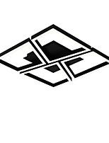 baratos -Novidades Montagem do Fluxo Luz Ambiente Acabamentos Pintados Metal Multi-Tonalidades, Proteção para os Olhos, Ajustável 220-240V Branco / Dimmable Com Controle Remoto / Branco quente + branco Fonte