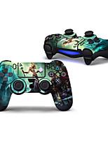 Недорогие -PS4 Controller Стикер Назначение Wii U ,  Очаровательный Стикер ПВХ 1 pcs Ед. изм