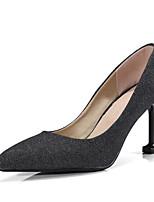 abordables -Femme Chaussures de confort Polyuréthane Printemps Chaussures à Talons Talon Aiguille Noir / Bleu / Rose