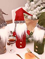 Недорогие -Аксессуары для вечеринок Рождество / Вечеринка / ужин Не указано Нетканые Новогодняя тематика / Креатив