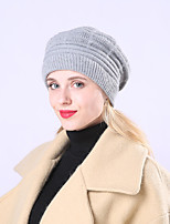 Недорогие -Жен. Классический / Праздник Широкополая шляпа Однотонный / Пэчворк