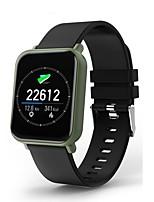 baratos -Pulseira inteligente R6 para Android iOS Bluetooth Impermeável Monitor de Batimento Cardíaco Medição de Pressão Sanguínea Tela de toque Calorias Queimadas Podômetro Aviso de Chamada Monitor de