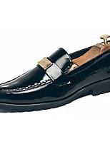 abordables -Homme Chaussures de confort Polyuréthane Automne Mocassins et Chaussons+D6148 Noir / Soirée & Evénement