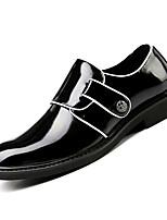 abordables -Homme Chaussures de confort Polyuréthane Automne Business Mocassins et Chaussons+D6148 Ne glisse pas Noir