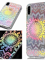 abordables -Coque Pour Apple iPhone XR / iPhone XS Max IMD / Transparente / Motif Coque Fleur Flexible TPU pour iPhone XS / iPhone XR / iPhone XS Max