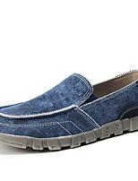 Недорогие -Муж. Комфортная обувь Полиуретан Осень На каждый день Мокасины и Свитер Доказательство износа Серый / Синий