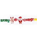 Недорогие -Новогодние флажки Нетканый материал куб Оригинальные Рождественские украшения