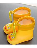 Недорогие -Мальчики / Девочки Обувь Резина Весна & осень Удобная обувь / Резиновые сапоги Ботинки для Дети (1-4 лет) Желтый / Синий / Розовый