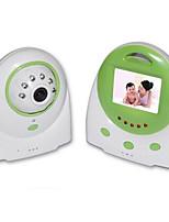 """Недорогие -детский монитор 8001 3.6 мм 0.3mp cmos 70 ° дальность ночного видения 2-3 м 2.4ghz 1.5 """"tft"""