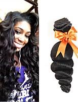 abordables -3 offres groupées Cheveux Péruviens Ondulation Lâche Cheveux humains Tissages de cheveux humains / Bundle cheveux / One Pack Solution 8-28 pouce Couleur naturelle Tissages de cheveux humains Soyeux