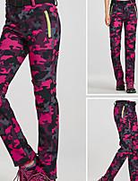 abordables -Femme Pantalons de Ski Pare-vent, Etanche, Garder au chaud Ski / Snowboard / Sports d'hiver Spandex, Polyester Coupe-vent / Pantalon de bavoir de neige Tenue de Ski