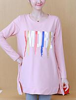 abordables -Tee-shirt femme en vrac - lettre col rond