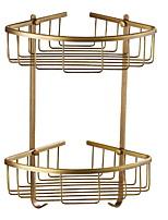Недорогие -Полка для ванной Новый дизайн / Cool Современный Латунь 1шт На стену