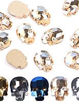 Недорогие -10 pcs Стразы для ногтей Многофункциональный / Лучшее качество Креатив маникюр Маникюр педикюр Повседневные / фестиваль модный
