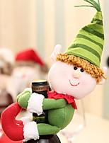 Недорогие -Мешки для вина Праздник Хлопок куб Оригинальные Рождественские украшения