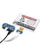 abordables -Waveshare 5.83inch chapeau de papier électronique (b) 600x448 5.85inch chapeau d'affichage électronique pour la framboise pi rouge / noir / blanc trois couleurs
