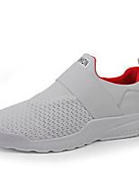 Недорогие -Муж. Комфортная обувь Tissage Volant Осень На каждый день Мокасины и Свитер Дышащий Белый / Черный / Красный