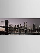 Недорогие -С картинкой Роликовые холсты - Архитектура / Модерн Modern