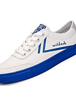 Недорогие -Муж. Комфортная обувь Полиуретан Осень Кеды Красный / Синий