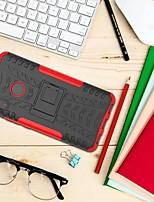 Недорогие -Кейс для Назначение Xiaomi Xiaomi Mi Max 3 Защита от удара / со стендом Кейс на заднюю панель броня Твердый ПК для Xiaomi Mi Max 3