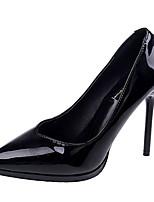 abordables -Femme Escarpins Polyuréthane Automne Décontracté Chaussures à Talons Talon Aiguille Noir / Rouge / Amande / Quotidien