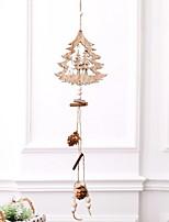 Недорогие -Рождество Праздник деревянный Квадратный деревянный Рождественские украшения