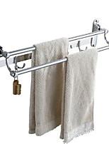 Недорогие -Держатель для полотенец Новый дизайн / Cool Современный Нержавеющая сталь 1шт 2-х опорная балка На стену