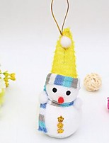 Недорогие -Праздничные украшения Рождественский декор Рождественские украшения Декоративная / Милый Цветастый 1шт