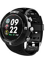 billiga -Smart Klocka F18 för Android iOS Bluetooth GPS Sport Vattentät Hjärtfrekvensmonitor Pekskärm Tidtagarur Stegräknare Samtalspåminnelse Aktivitetsmonitor