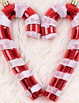Недорогие -Праздничные украшения Рождественский декор Рождество Декоративная Золотой / Красный / Розовый 1шт