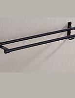 Недорогие -Держатель для полотенец Новый дизайн / Cool Modern Металл 1шт 2-х опорная балка На стену