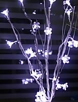 billiga -0.5m Ljusslingor 25 lysdioder Lila Dekorativ 220-240 V 1set