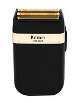baratos -Kemei Máquinas de barbear eléctricas para Homens 5 V Baixo Ruido / Design Portátil / Leve e conveniente