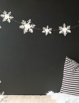 Недорогие -Праздничные украшения Рождественский декор Рождественские украшения Декоративная Белый 1шт