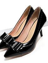 abordables -Femme Chaussures de confort Polyuréthane Printemps Chaussures à Talons Talon Aiguille Blanc / Noir / Vert