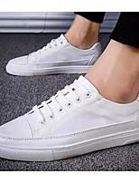 Недорогие -Муж. Комфортная обувь Сетка Лето Кеды Белый / Белый / синий