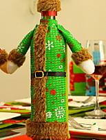 Недорогие -Мешки для вина Праздник Ткань куб Оригинальные Рождественские украшения