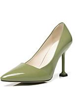 Недорогие -Жен. Балетки Наппа Leather Весна Обувь на каблуках На шпильке Черный / Зеленый / Верблюжий