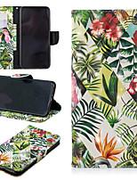 baratos -Capinha Para Apple iPhone XS / iPhone XS Max Carteira / Porta-Cartão / Com Suporte Capa Proteção Completa Árvore Rígida PU Leather para iPhone XS / iPhone XR / iPhone XS Max