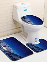 Недорогие -Modern Коврики для ванны 100 г / м2 полиэфирный стреч-трикотаж Креатив нерегулярный Cool
