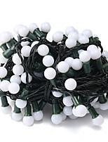 Недорогие -6м Гирлянды 120 светодиоды Белый Декоративная 220-240 V 1 комплект