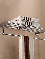 abordables -Barre porte-serviette Design nouveau / Cool Moderne Acier inoxydable / fer 1pc Double Montage mural