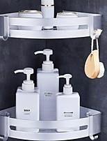 Недорогие -Полка для ванной Новый дизайн / Многофункциональный Modern Алюминий 1шт На стену