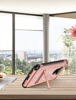 Недорогие -BENTOBEN Кейс для Назначение LG G6 Защита от удара / со стендом / Покрытие Кейс на заднюю панель Сияние и блеск Твердый Кожа PU / ТПУ / ПК для LG G6 / LG G5