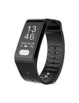 Недорогие -Смарт Часы E-TLWT6 для Android iOS Bluetooth Измерение кровяного давления Сенсорный экран Израсходовано калорий Регистрация деятельности Информация