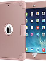 Недорогие -BENTOBEN Кейс для Назначение Apple iPad Mini 3/2/1 Защита от удара / Ультратонкий Чехол Однотонный Твердый Силикон / ПК для iPad Mini 3/2/1