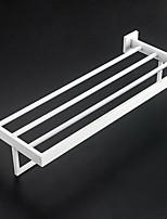 Недорогие -Держатель для полотенец Новый дизайн / Cool Modern Нержавеющая сталь 1шт Двуспальный комплект (Ш 200 x Д 200 см) На стену