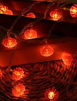 abordables -10m Guirlandes Lumineuses 100 LED Rouge Décorative 220-240 V 1 set