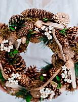 baratos -Decorações de férias Decorações Natalinas Enfeites de Natal Decorativa Verde Floresta 1pç